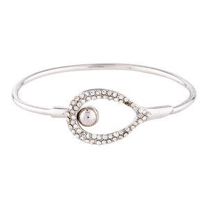 ALEXIS BITTAR • Encrusted Crystal Tension Bracelet